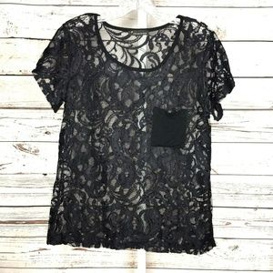 3 for $25 Forever 21 juniors lace blouse